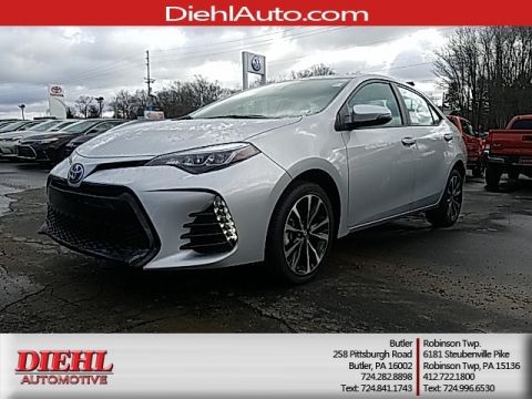 New 2017 Toyota Corolla SE FWD 4D Sedan